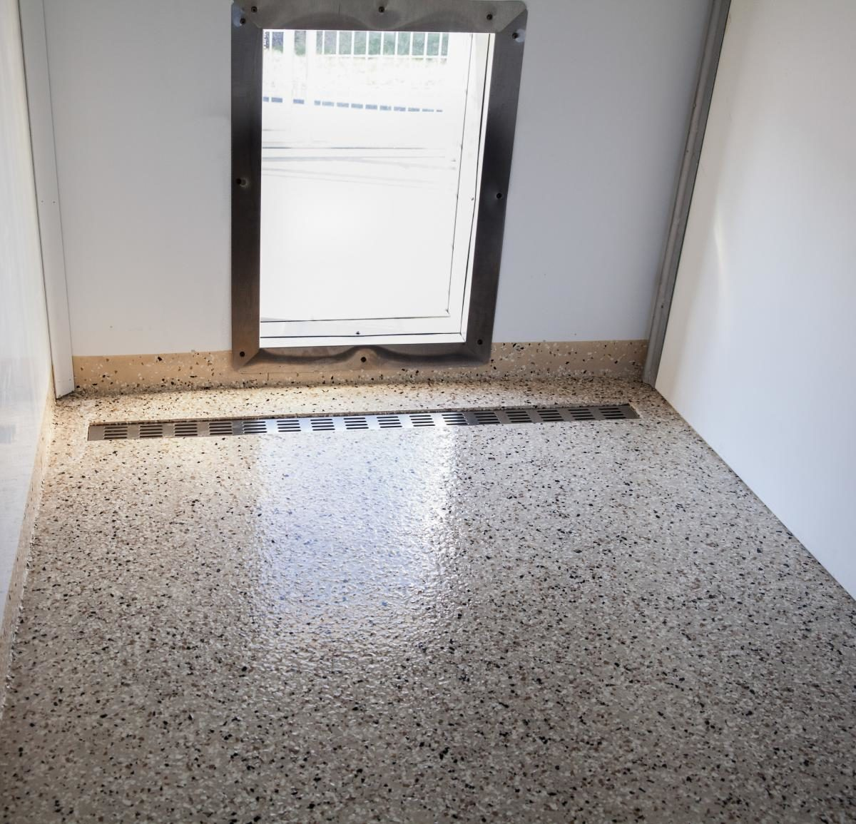 kennels for dogs epoxy floor
