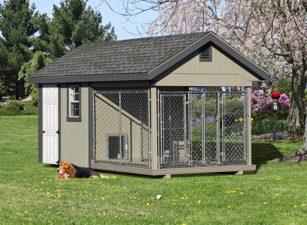 8x16 quality dog kennel