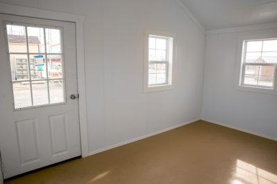 14x30 dog kennel interior