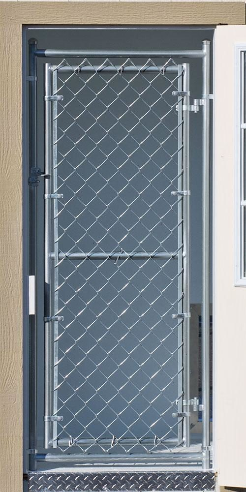 screen door dog kennel option