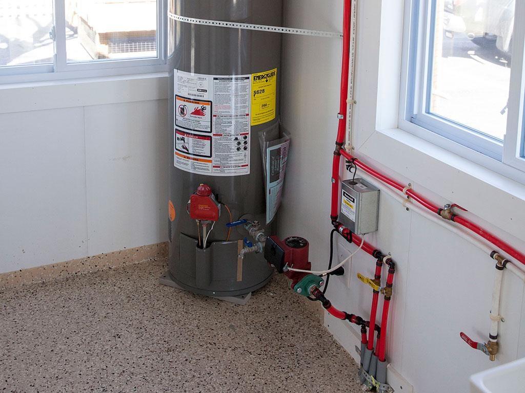radiant floor heat system dog kennel options