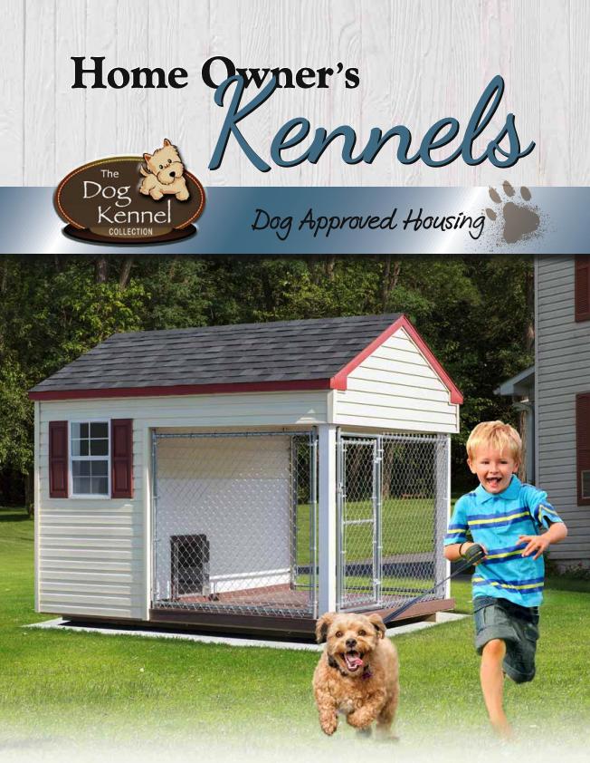 Residential Dog Kennel Catalog