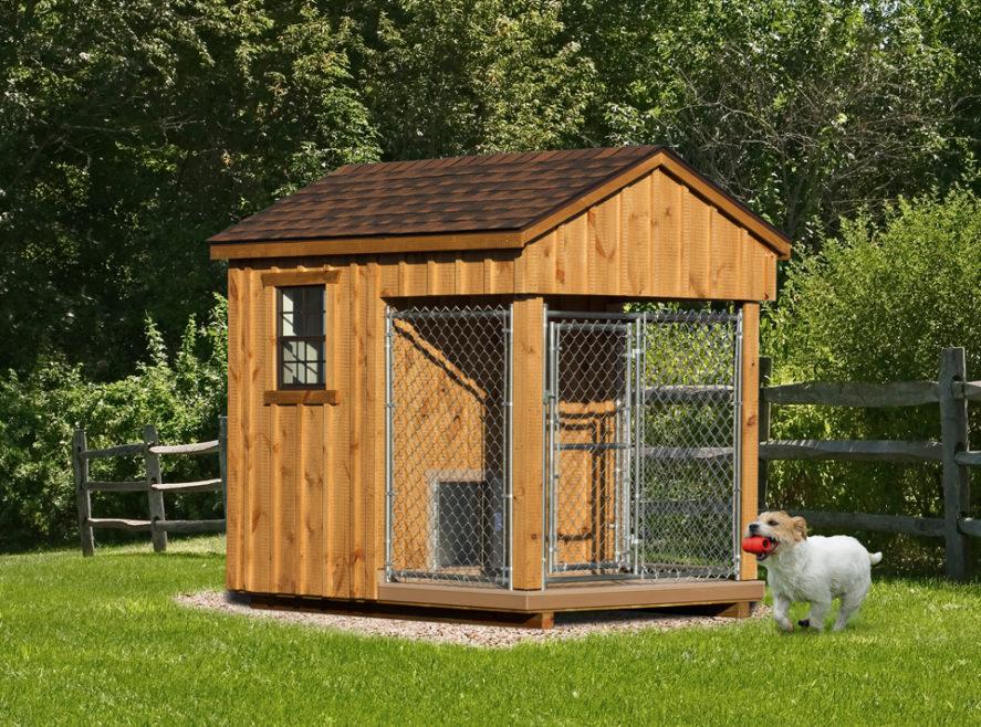 6x8 amish dog kennel