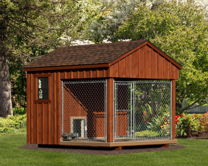 8x10 amish dog kennel
