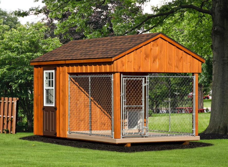 8x14 amish dog kennel