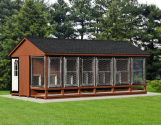 12x22 large dog kennel 0