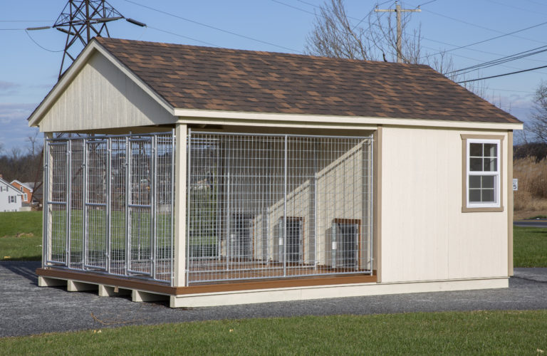 ready made dog kennels k4b