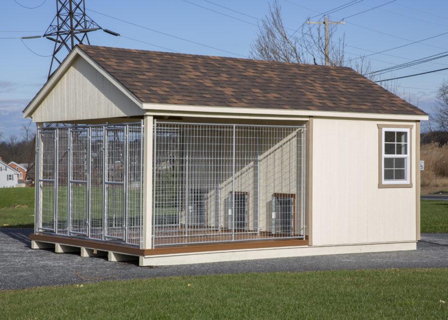 ready made dog kennels k4b