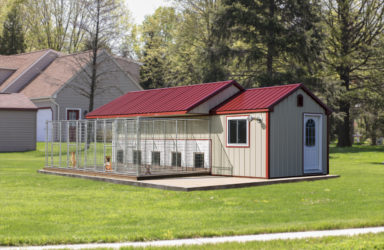 10x28 large dog kennel