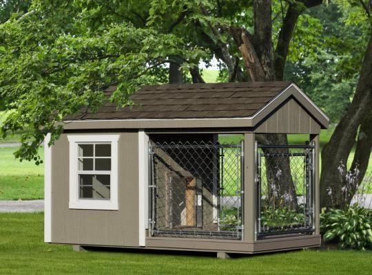 4x8 amish dog kennel 0